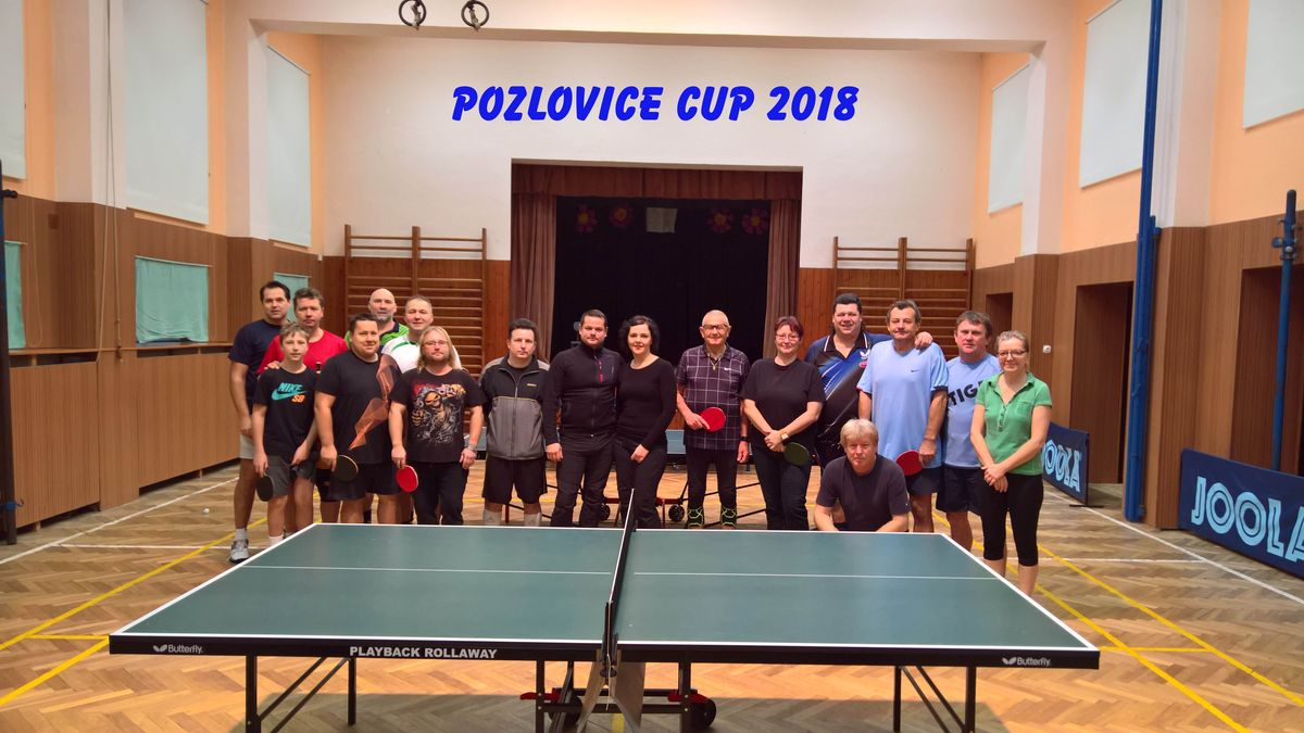 Pozlovice Cup 2018